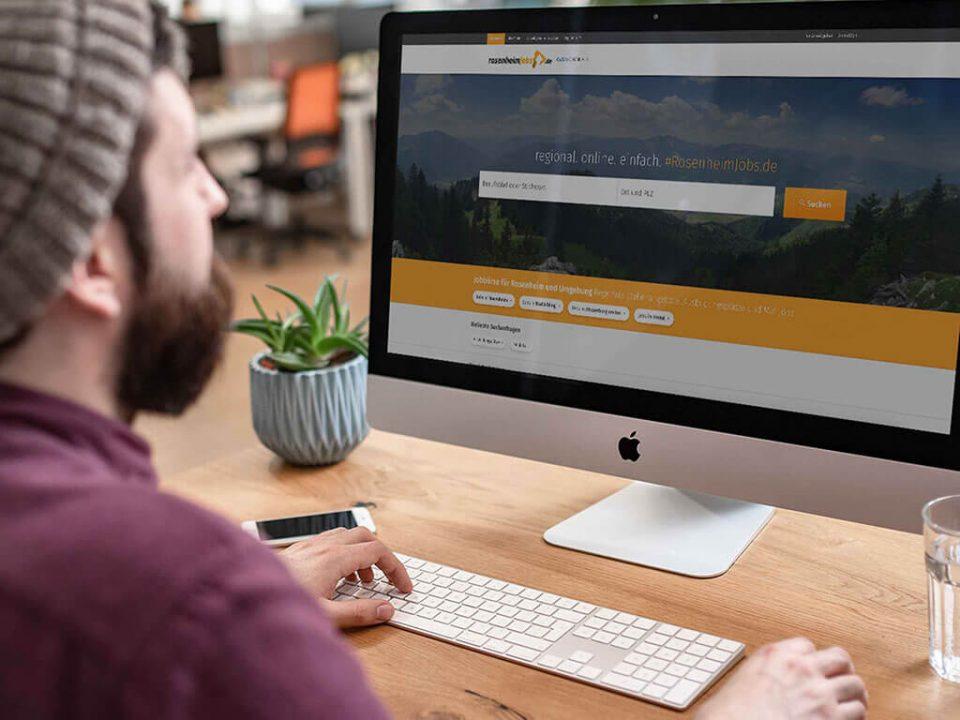 SKRUFF Designagentur Werbeagentur Rosenheim Projekte Fotografie Arbeitsplatz bmw welt joblocal
