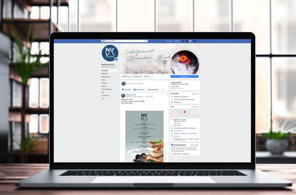 SKRUFF Designagentur Werbeagentur Rosenheim Projekte Social Media Facebook Page Bay