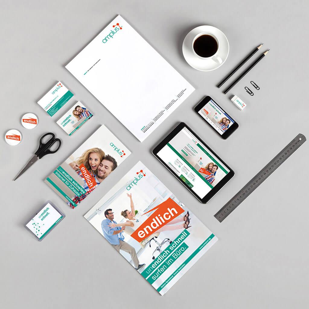 SKRUFF Designagentur Werbeagentur Rosenheim Projekte Corporate Design Büroartikel Design Block Stift Schere
