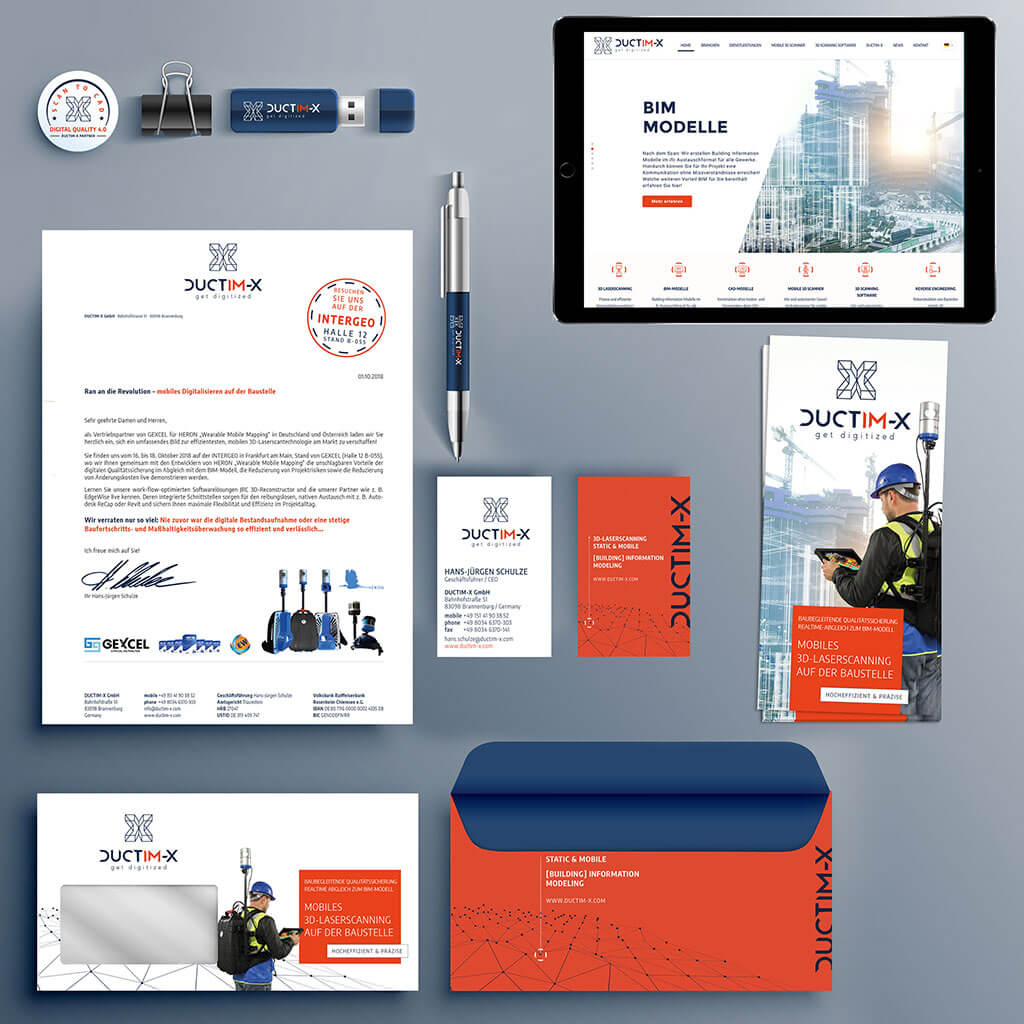 SKRUFF Designagentur Werbeagentur Rosenheim Projekte Corporate Design Juctim-X Allround Design Website Homepage Visitenkarten Business Cards Briefumschlag