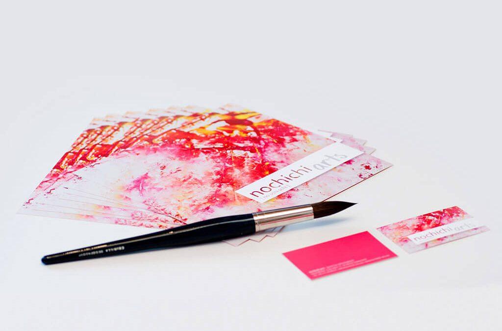 SKRUFF Designagentur Werbeagentur Rosenheim Projekte Corporate Design Visitenkarten nochichi