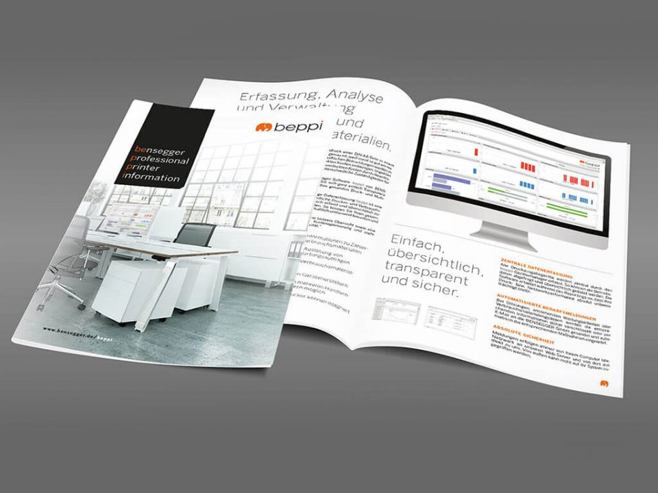 SKRUFF Designagentur Werbeagentur Rosenheim Projekte Print Design Katalog Broschüre Beppi