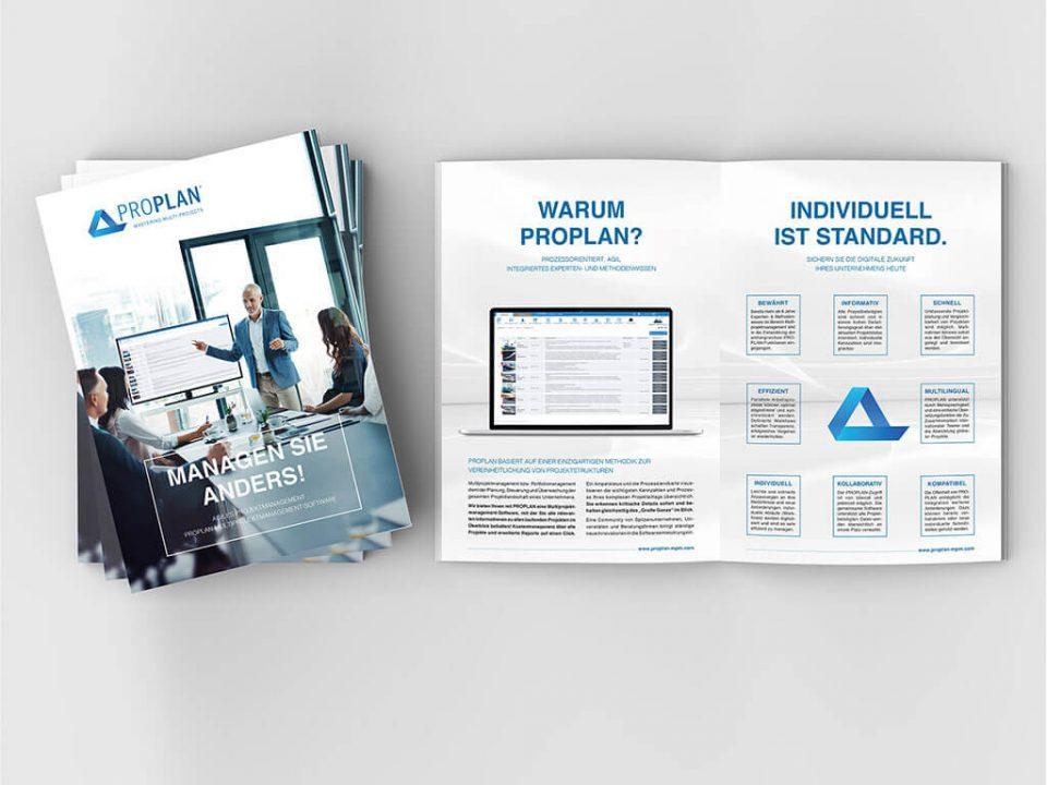 SKRUFF Designagentur Werbeagentur Rosenheim Projekte Print Design Broschüre Katalog Design Proplan