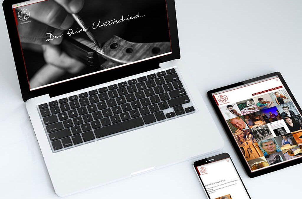 SKRUFF Designagentur Werbeagentur Rosenheim Projekte Webdesign Der Feine Unterschied