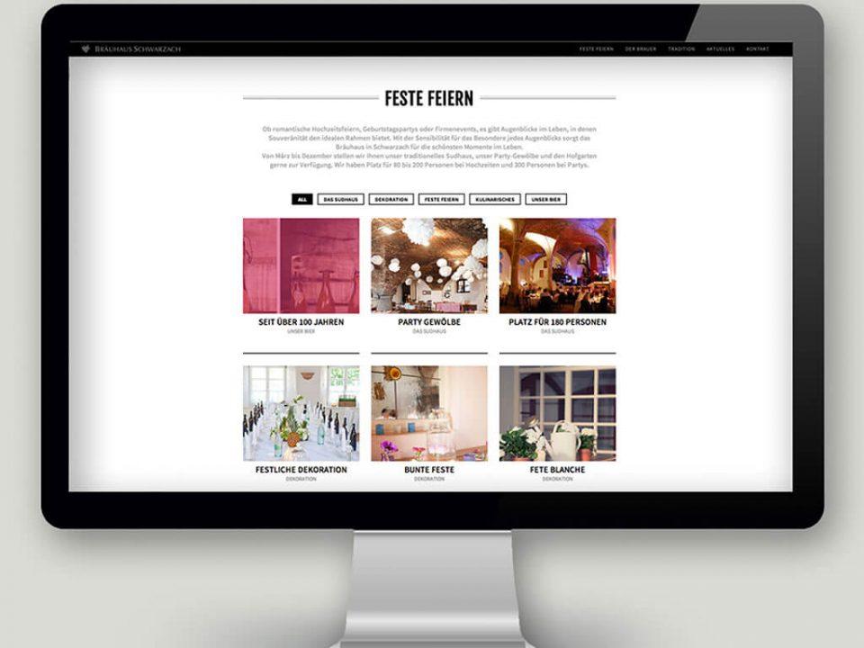 SKRUFF Designagentur Werbeagentur Rosenheim Projekte Webdesign Website Feste Feiern