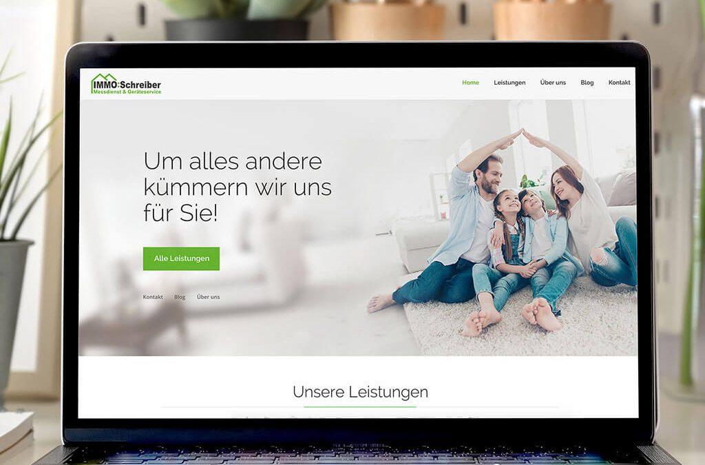 SKRUFF Designagentur Werbeagentur Rosenheim Projekte Webdesign Immo Schreiber Website