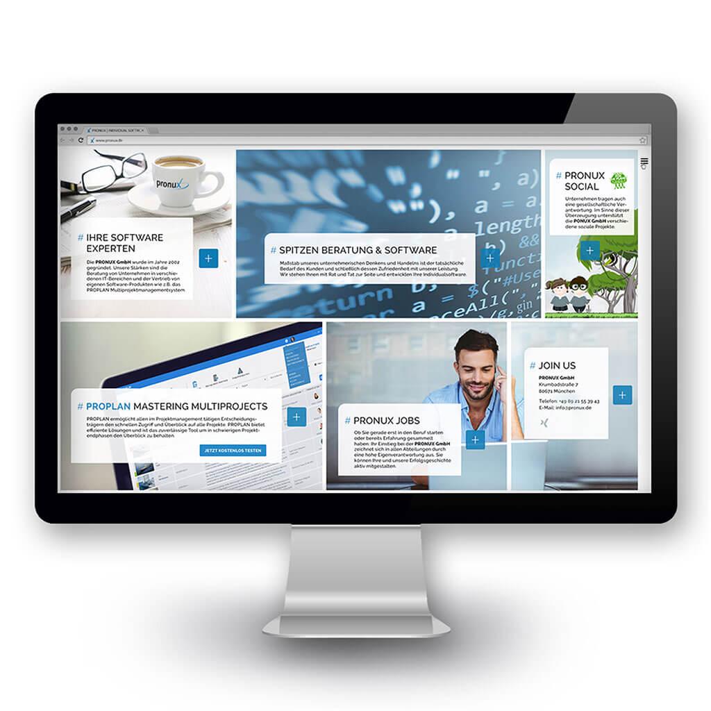 SKRUFF Designagentur Werbeagentur Rosenheim Projekte Webdesign ProPlan